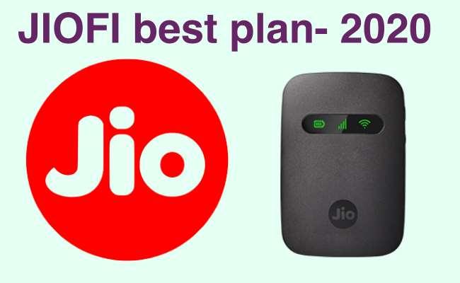 jiofi best plan 2020